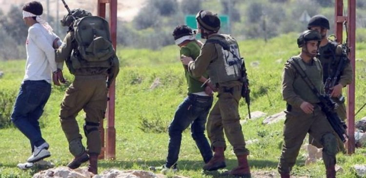 Sixteen Palestinians detained from West Bank