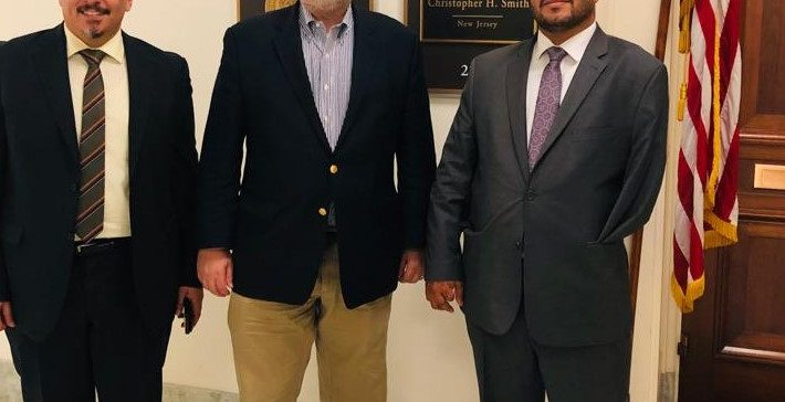 Human Rights Minister shares Houthi atrocities with US Congress members