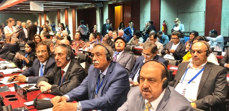 Barakani participates in opening of 141st Assembly of the IPU in Belgrade