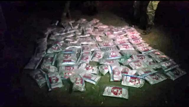 Marib Security seizes 41 Kgs of Hashish on its way to Houthi militia