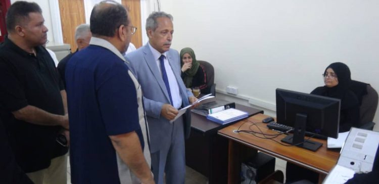 Chief of Supreme Judicial Council inspects court business in Aden