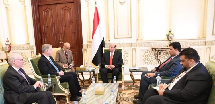 President Hadi receives US Deputy Assistant Secretary of State