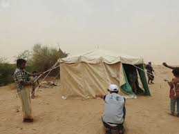 KSrelief distributes food, shelter aid to affected people in Hajja