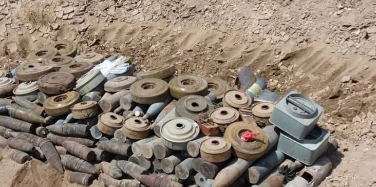 Over 1,500 mines laid by Houthi militia cleared within a week