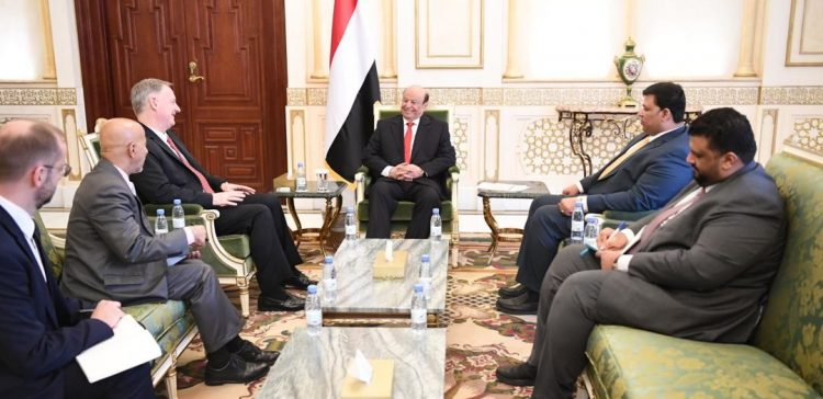 President Hadi affirms depth of Yemen-US relations