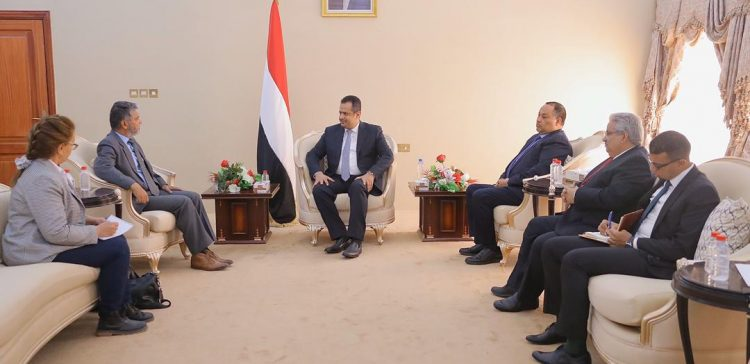 PM receives Head of UN's mission in Hodeidah