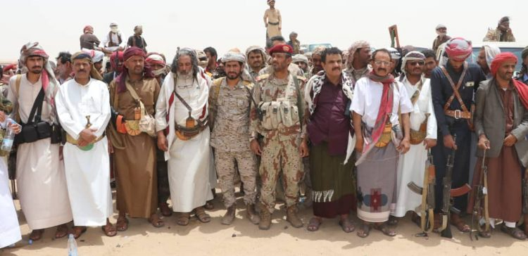 Army's Chief of Staff pays tribute to Yemeni Tribes Positions in standing with Legitimacy