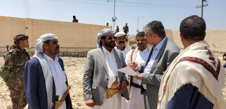 Culture Minister, Marib governor inspect site of cultural center project