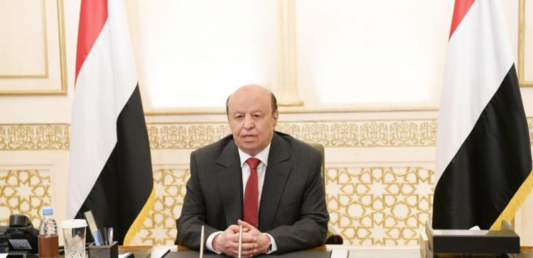 President Hadi launches appeal to IC to help Yemen, eliminate Houthi coup
