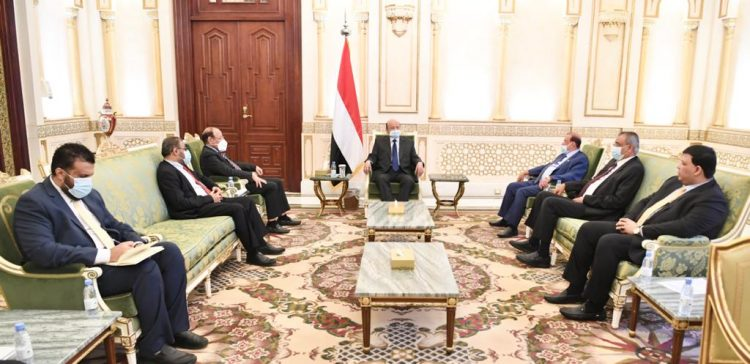 President meets Parliament's leadership