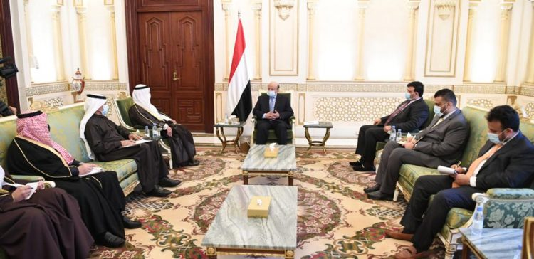 President Hadi praises the GCC's supportive stances in support of Yemen