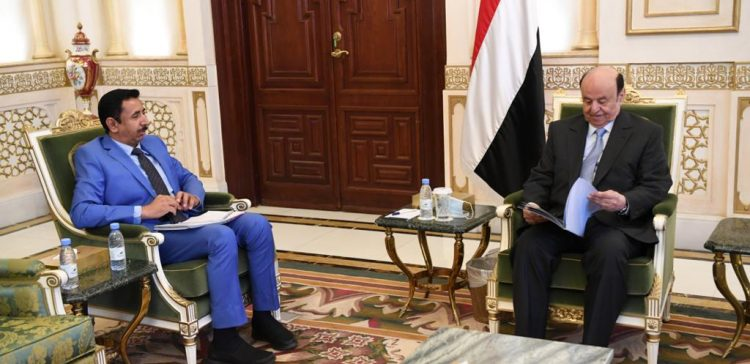 Hadi praises Shabwa governor's achievements in long marginalized province