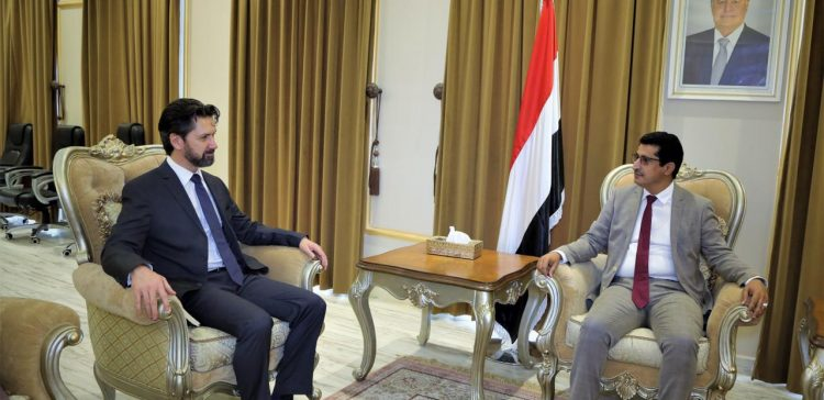 Yemen, UK discuss Houthi aggression on Marib