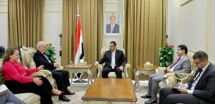 PM receives US Envoy to Yemen