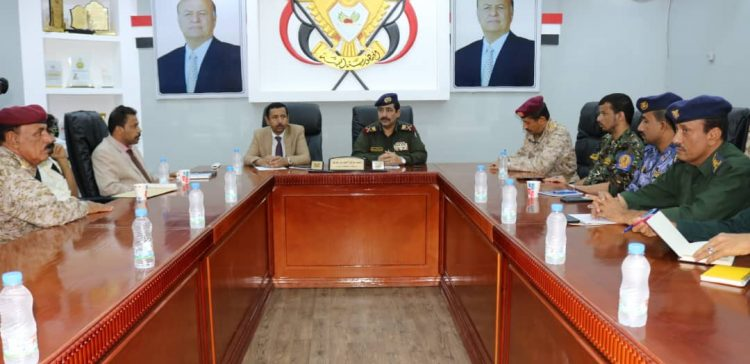 Interior Minister, Shabwa Governor chair security meeting