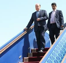 President Hadi arrives back in Riyadh after undergoing medical exams in US