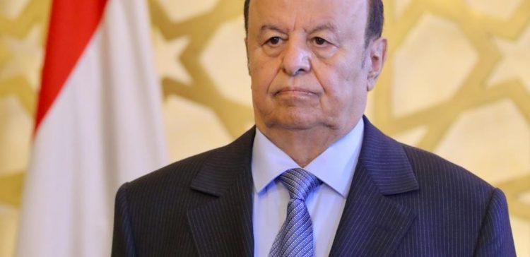 President Hadi: Everybody must fight Houthi militiamen