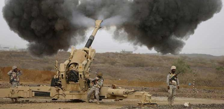 Artillery shelling and intense air raids in Hajjah results in heavy losses to the militia