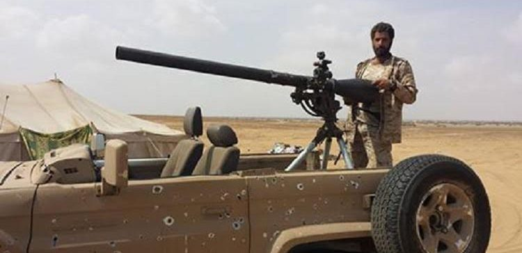 The militia suffered heavy losses by the artillery of the army and coalition raids