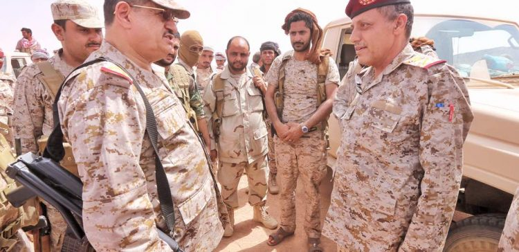 Chief of General Staff inspects fighting fronts in Jawf