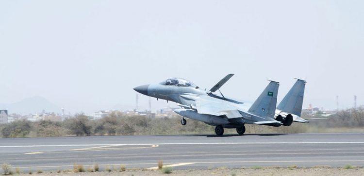 Coalition jets bomb Houthi-Saleh militias in Sana'a