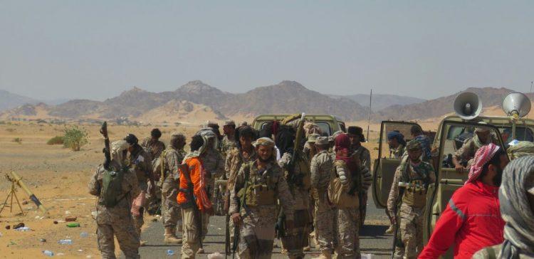 Saada..surprise attack on coup militia in Buqa ,airstrike kills field commander