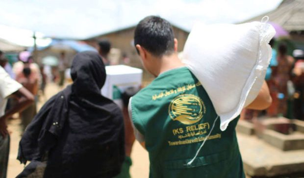 KSrelief distributes 82 tons of food parcels in Lahj