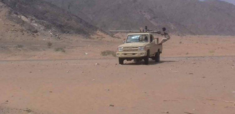 NA liberates a strategic place from militia in Shabwa