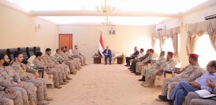 PM receives commander of the Saudi forces in Aden