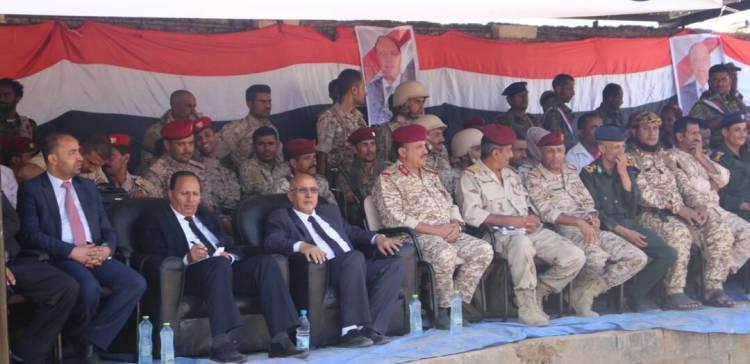 Government's delegation inaugurates SSF camp in Taiz