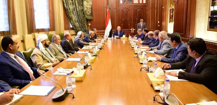 President chairs meeting include his advisors and PM