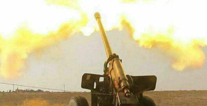 Airstrikes, artillery shelling bomb militias northern Sa'ada