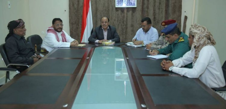 Vice President inspects conditions in Shabwah