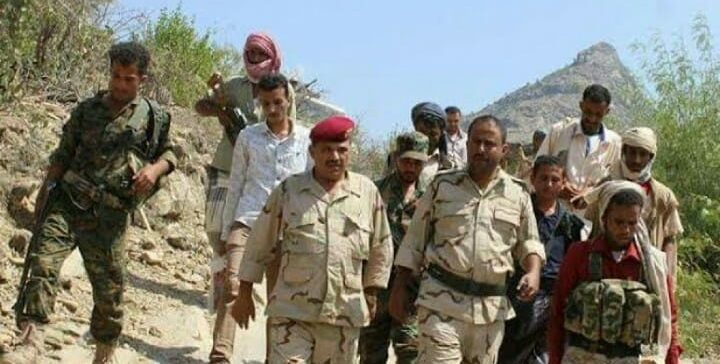 National Army controls hilly locations northern Lahjj