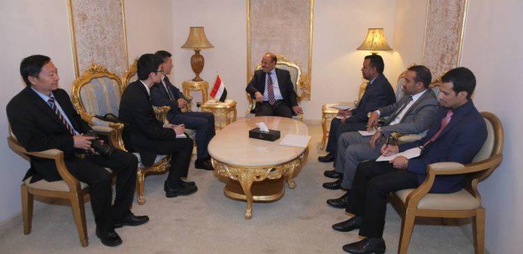 VP discusses Sino-Yemen cooperation with Chinese ambassador