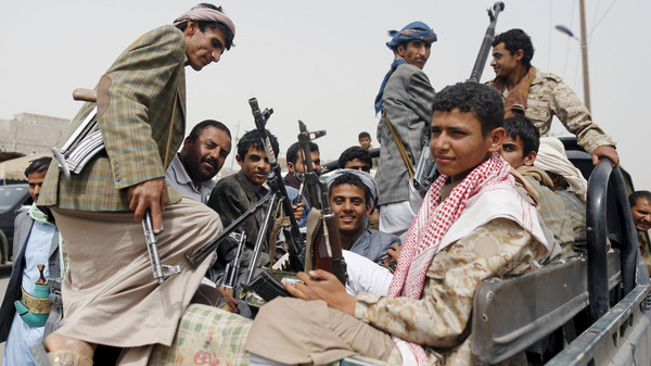 Seven militiamen killed, one vehicle destroyed in Taiz