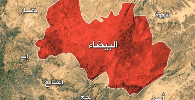 Al-Baydah,,,, Dozens of Houthis killed in battles in Nate'a district