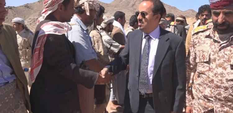 Info. Minister inspects recovery of war-torn Beihan