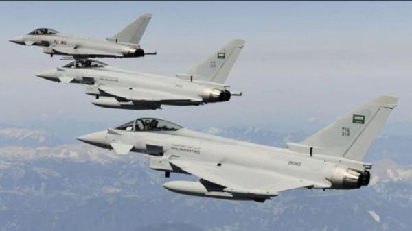 Coalition airstrikes bomb militias eastern Sana'a