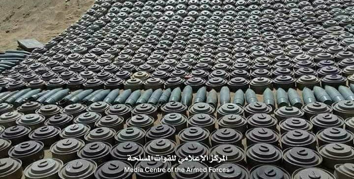 National army removes over 1900 mines in Aljouf