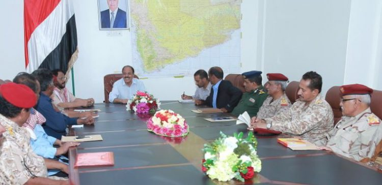 VP meets Shabwa governor and security leaders