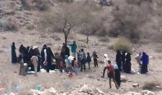 Houthi militia displaced 200 families from Al-Haimah in Taiz