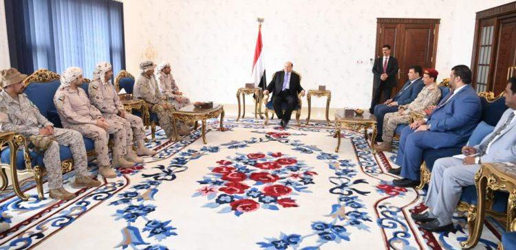 President Hadi praises pivotal role of Arab Coalition member states.