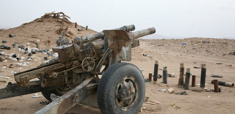 Houthi militia killed, injured by army artillery in Jawf province