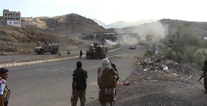 Scores of Houthi militiamen killed ,injured west Taiz