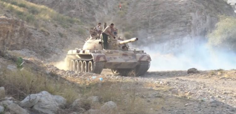 Army forces attack Houthi positions, many killed and injured in Taiz