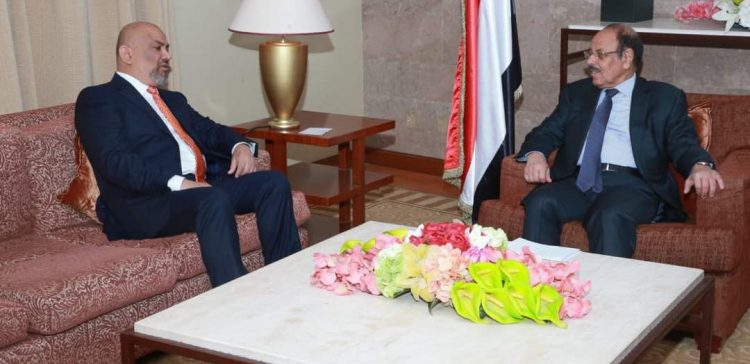 FM briefs VP on efforts to convey Yemenis' voice to the world