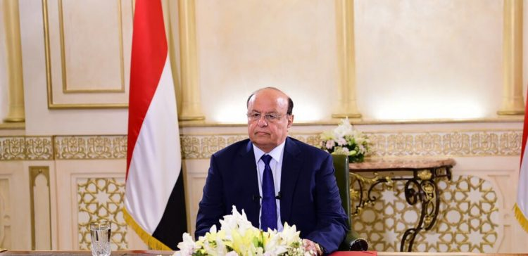 Hadi: Peace is the inevitable end to Yemen's suffering