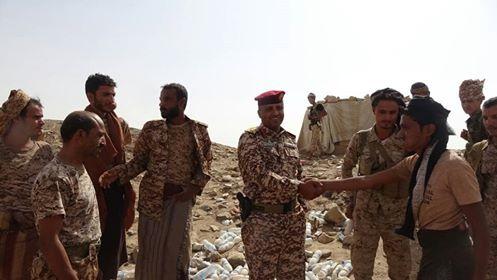 Al-Mekhlafi inspects Army units stationed in Al-Masloub