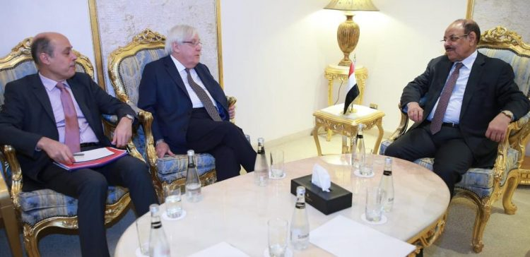 VP meets with UN Secretary General's envoy to Yemen